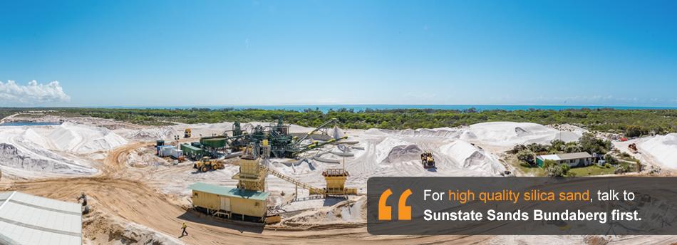 Sunstate Sands Silica Sand Supplier Queensland Australia