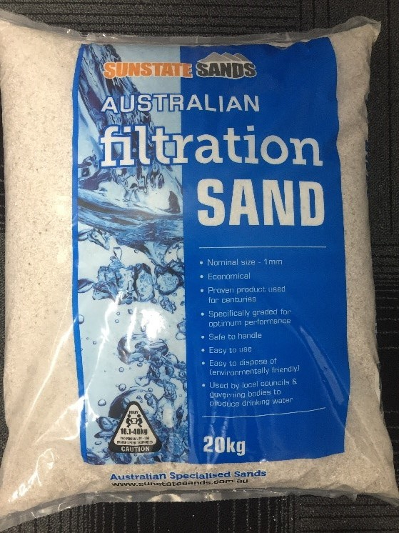 Filtration Sand - Sunstate Sands Bundaberg